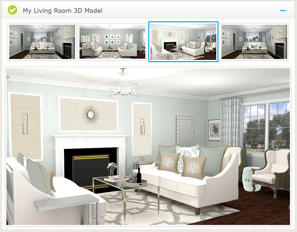 Virtual Interior Design Edesign Living Room Interior