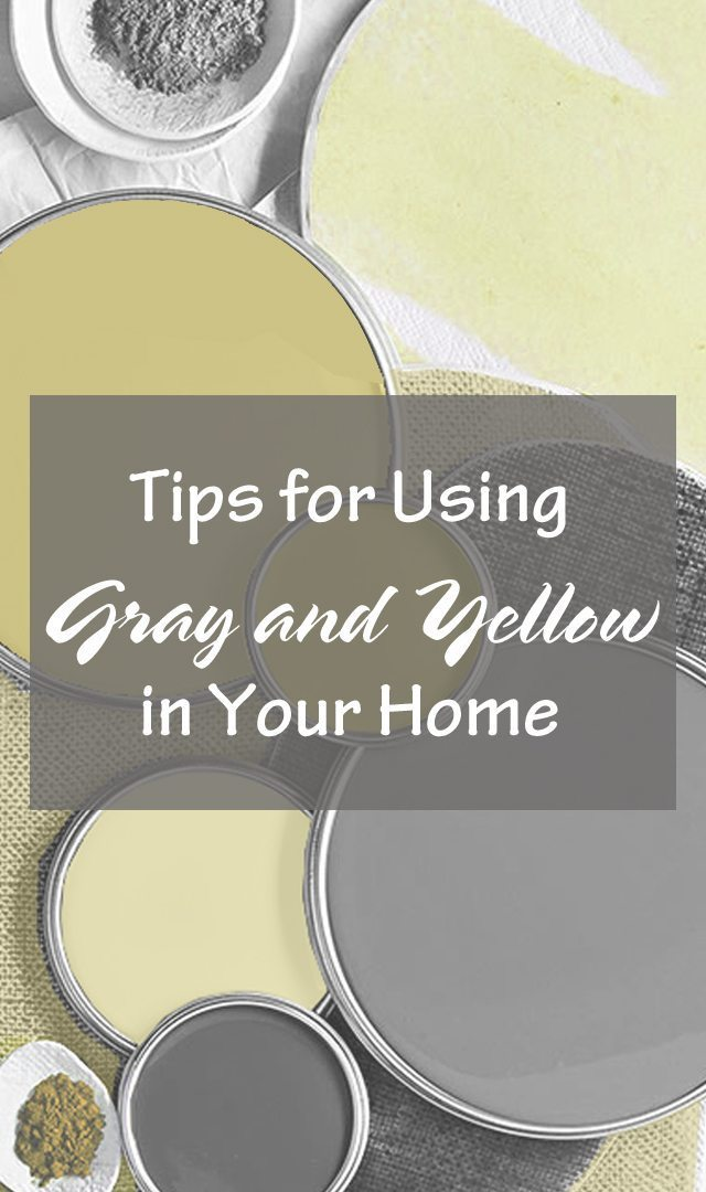 Gray and Yellow Design Ideas