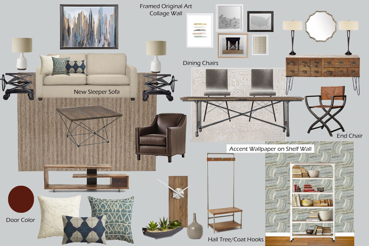 Interior Design Inspiration Board Mood Boards