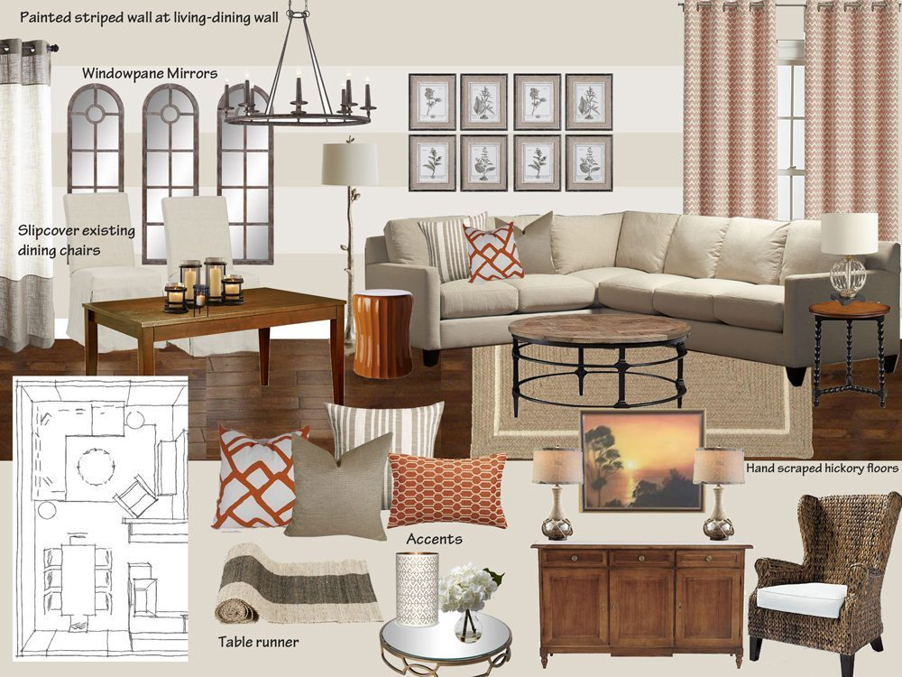 Interior design inspiration board edesign lite a space for Interior design and furniture websites for your inspiration