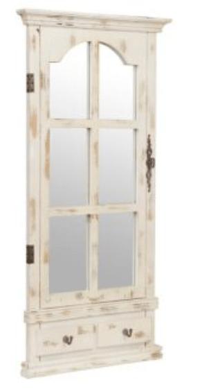 Window Pane Mirrors Country Home Decor