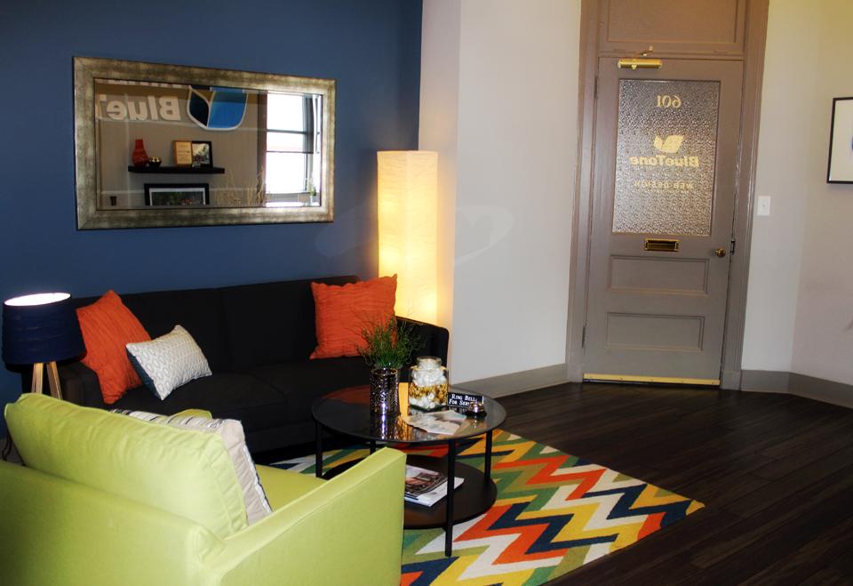 commercial interior design - modern office lobby decor