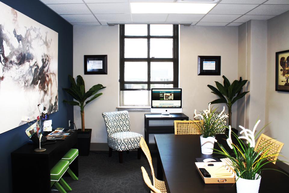 Commercial Interior Design Portfolio - Modern Office Design