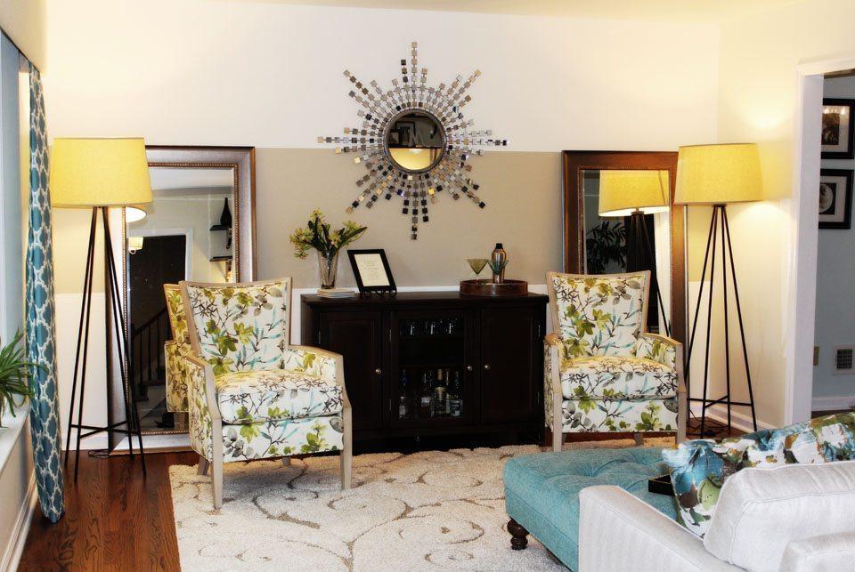 Modern Living Room – Tanbridge Rd. Wilmington, NC