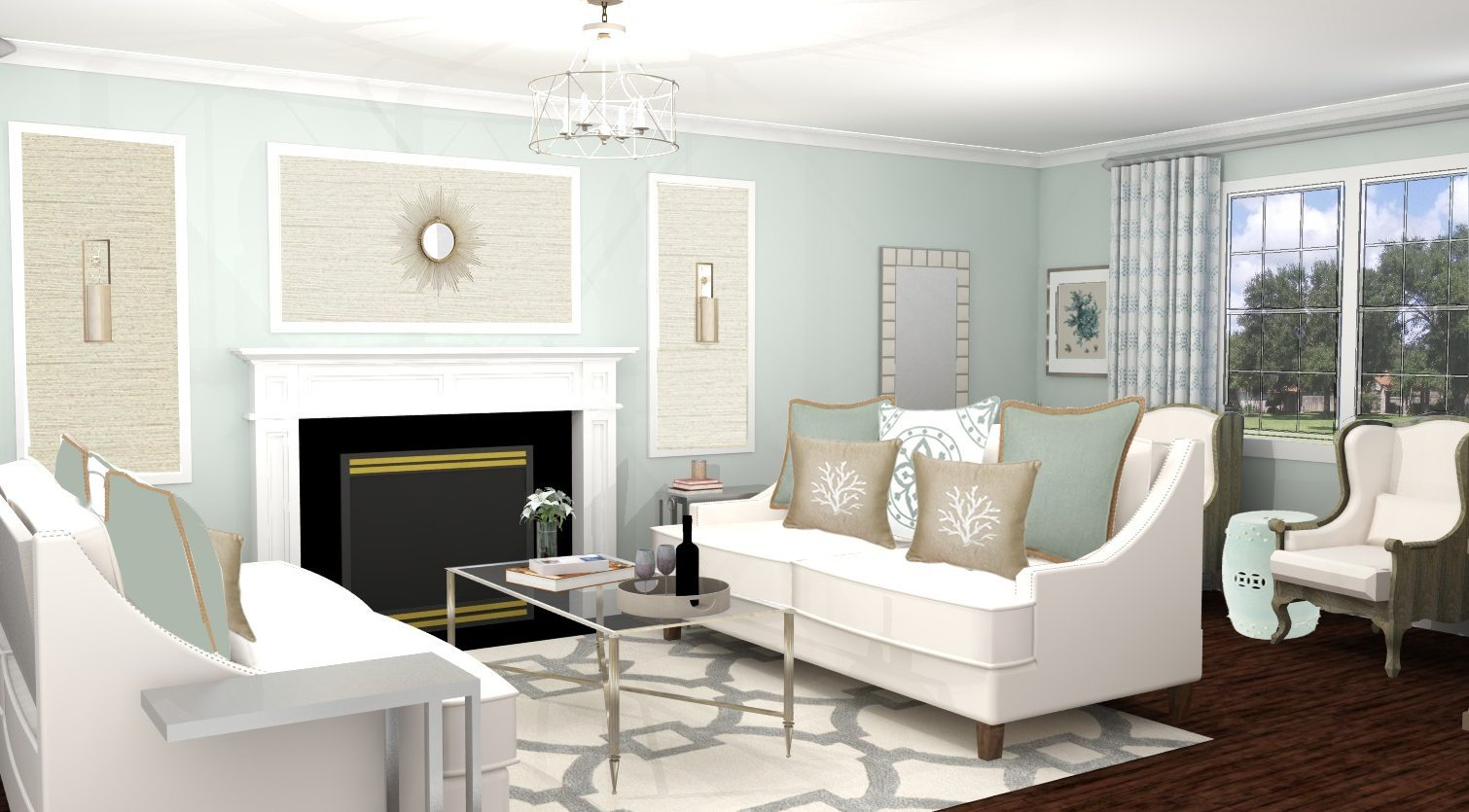 Traditional Living Room Design - Canaan, CT - A Space to Call Home