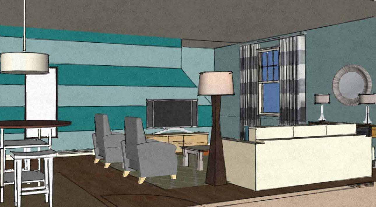 coastal contemporary living room virtual interior design view1 a space to call home. Black Bedroom Furniture Sets. Home Design Ideas