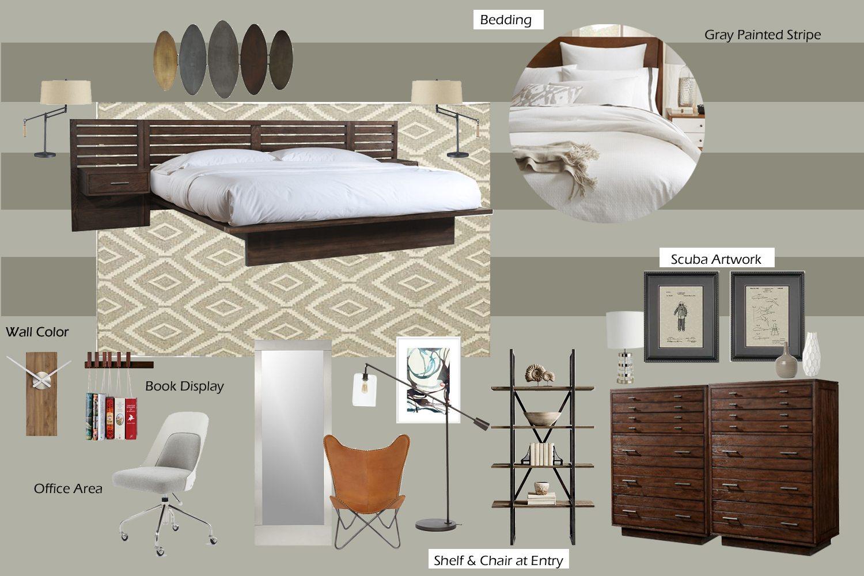 Bedroom Interior Mood Board
