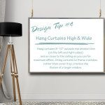 Design Tips & Tricks - #4 How To Hang Curtains