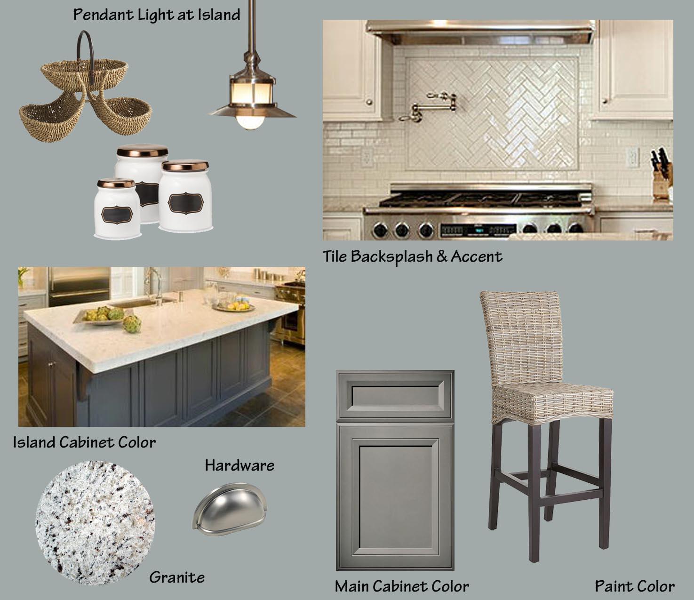 Modern classic kitchen design inspiration board a space for Classic kitchen designs 2015