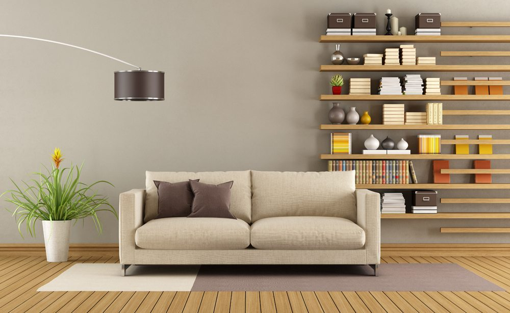 how to decorate small living room use wall space for storage
