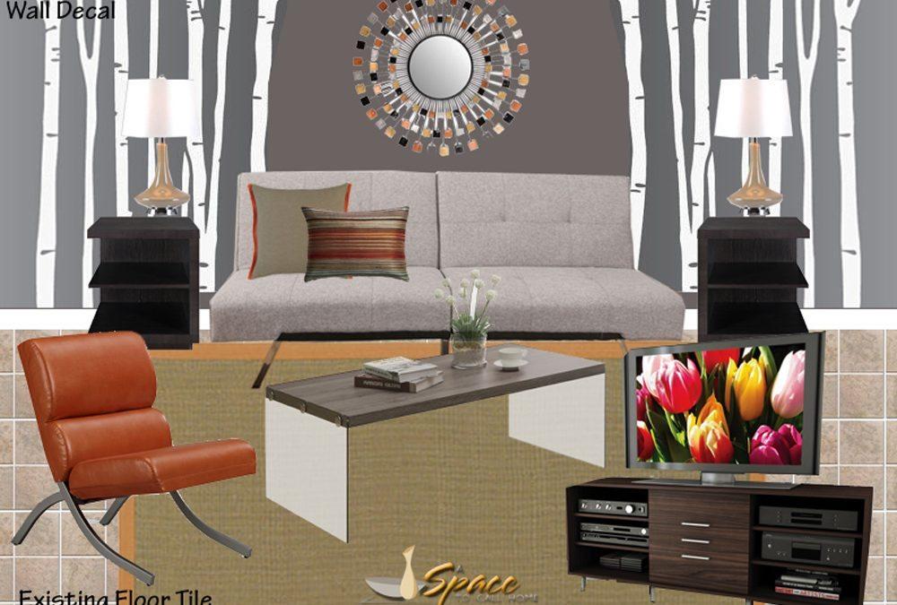 Contemporary Teen Hangout Room Design