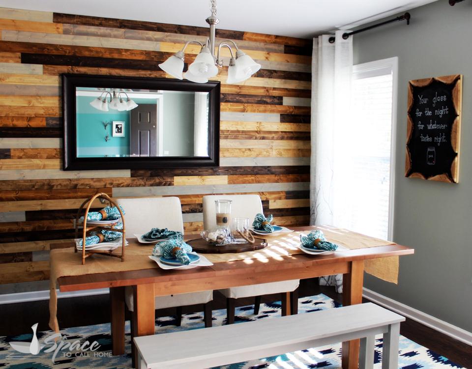 Modern Coastal Dining Room Living Design