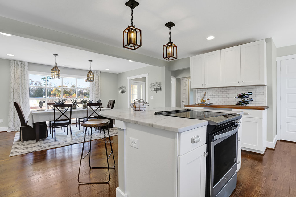 Imaginecozy Staging A Kitchen: Kitchen Staged & Formal Dining Room Staging
