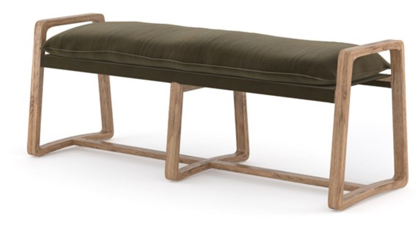 Ace Bench Four Hands Olive